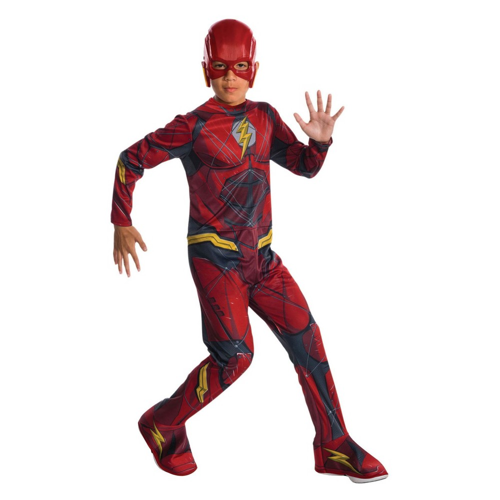 Kids' Justice League The Flash Halloween Costume L, Boy's
