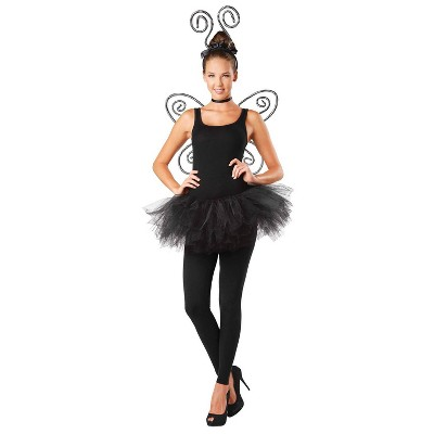 Wonder Woman Striped Antenna and Wings Halloween Costume Set