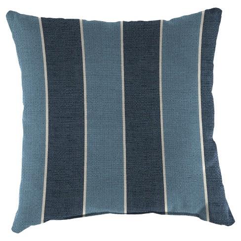 2pk Square Outdoor Throw Pillows Blue Jordan Target