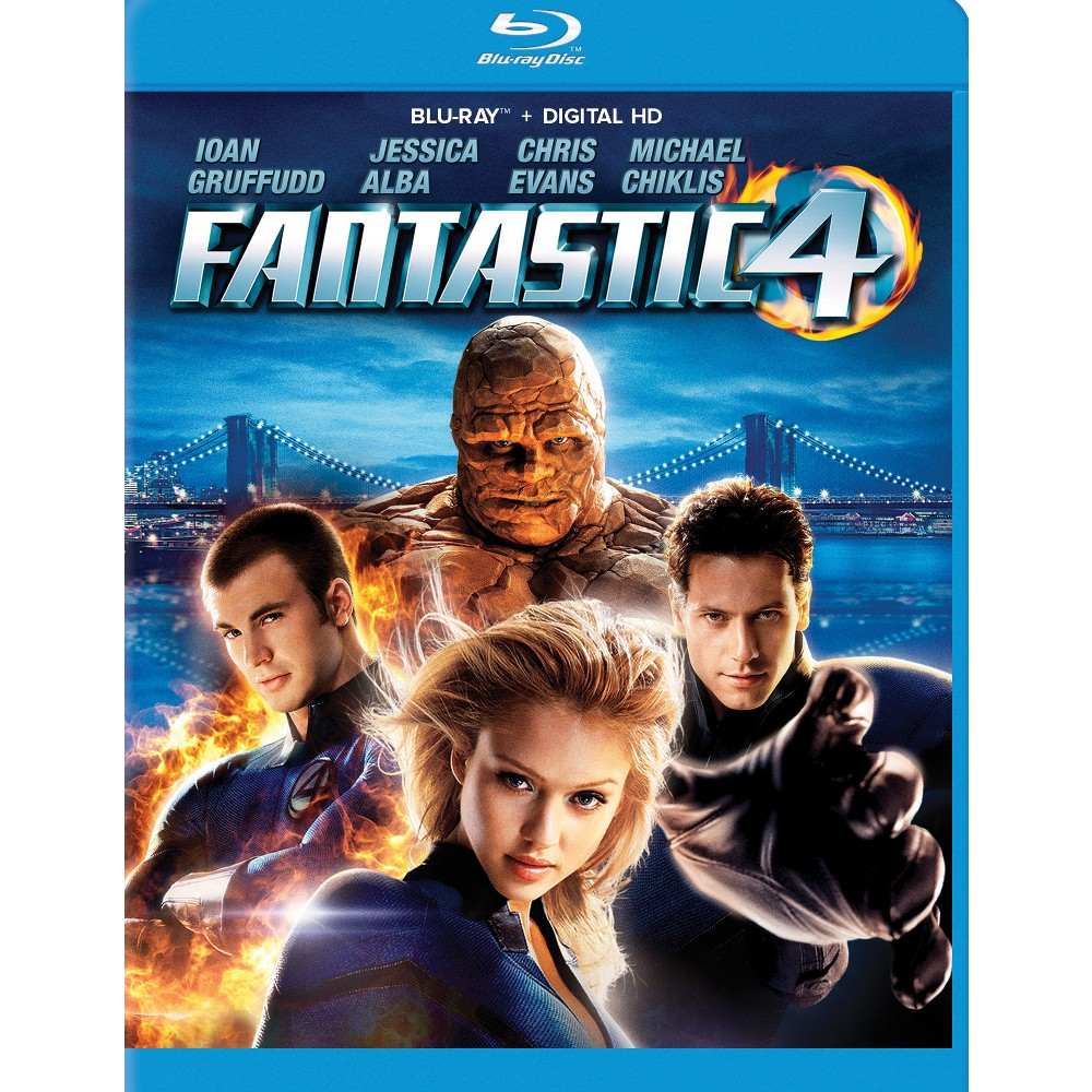 Fantastic Four (Blu-ray), Movies