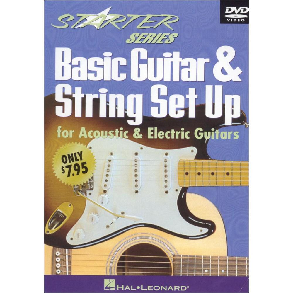 Basic Guitar & String Set Up (Dvd)