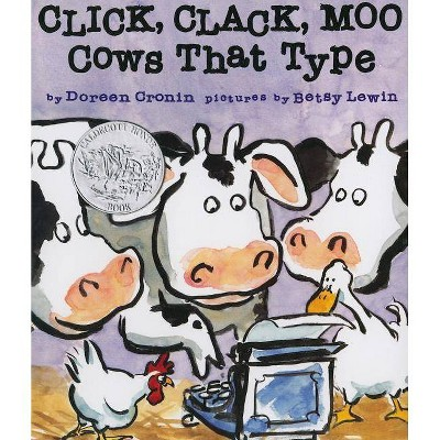 Click, Clack, Moo - (Classic Board Books) by  Doreen Cronin (Board Book)