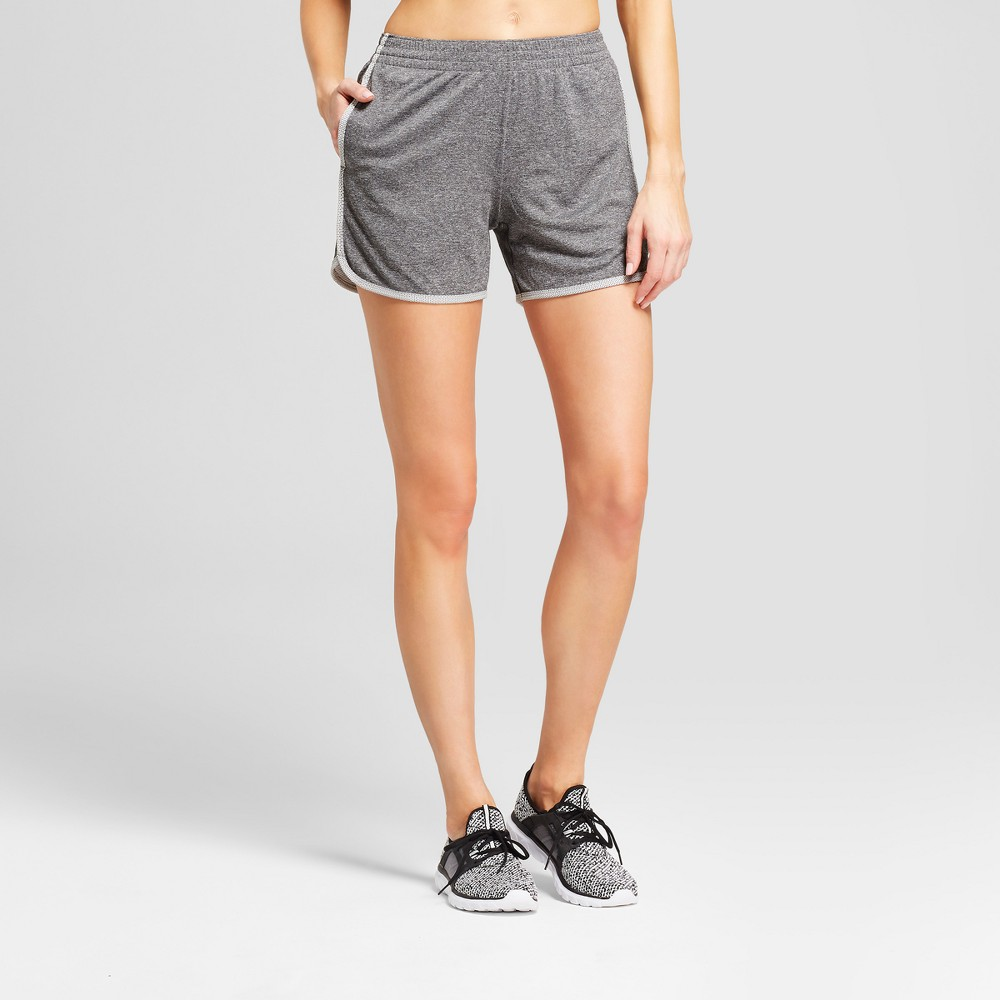 Women's Training Mid-Rise Sport Shorts 5 - C9 Champion Dark Heather Gray L