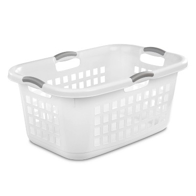 2 Bushel Capacity Single Laundry Basket White - Room Essentials™