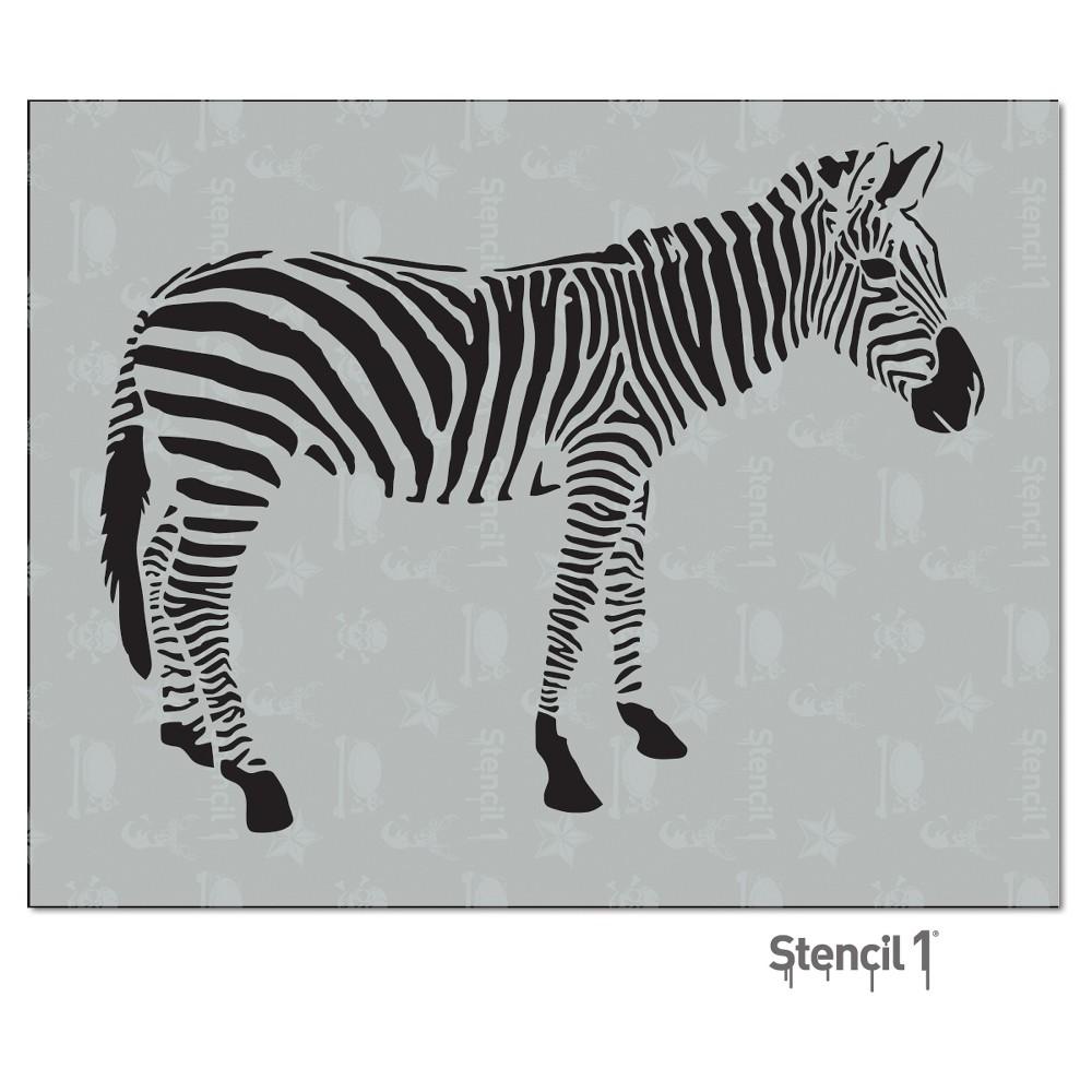 Stencil1 Zebra - Stencil 8.5