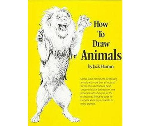 How to Draw Animals (Paperback) (Jack Hamm) - image 1 of 1