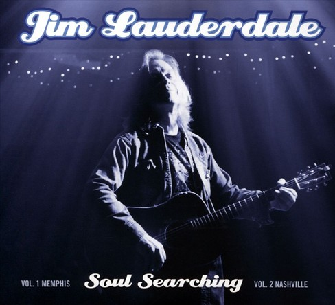 Jim lauderdale - Soul searching:Memphis v 1/Nashvil v2 (CD) - image 1 of 1