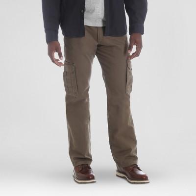 Wrangler Men's Relaxed Fit Straight Cargo Pants