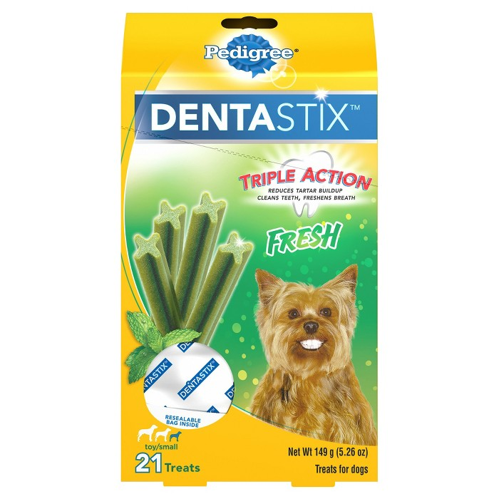 Pedigree Dentastix Fresh Toy/Small Treats for Dogs - image 1 of 4
