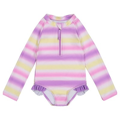 Andy & Evan  Toddler Long Sleeve Swimsuit
