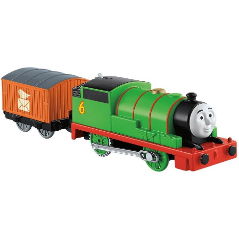 Fisher-Price Thomas & Friends TrackMaster Motorized Percy Engine ...