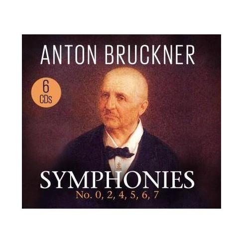 Anton Bruckner - Symphonies: No. 0, 2, 4, 5, 6, 7 (CD) - image 1 of 1