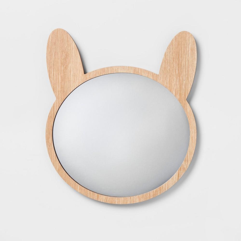 "Image of ""13""""x11"""" Bunny Mirror - Pillowfort"""