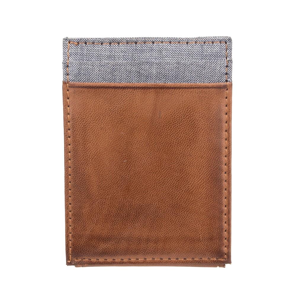 Denizen from Levi's Men's Wide Mag Wallet - Tan