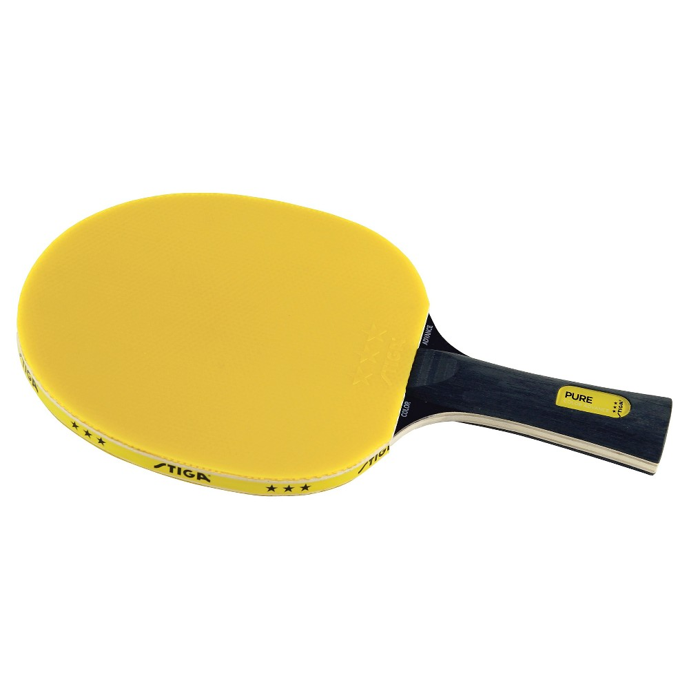 Stiga Pure Color Advance Table Tennis Racket - Yellow