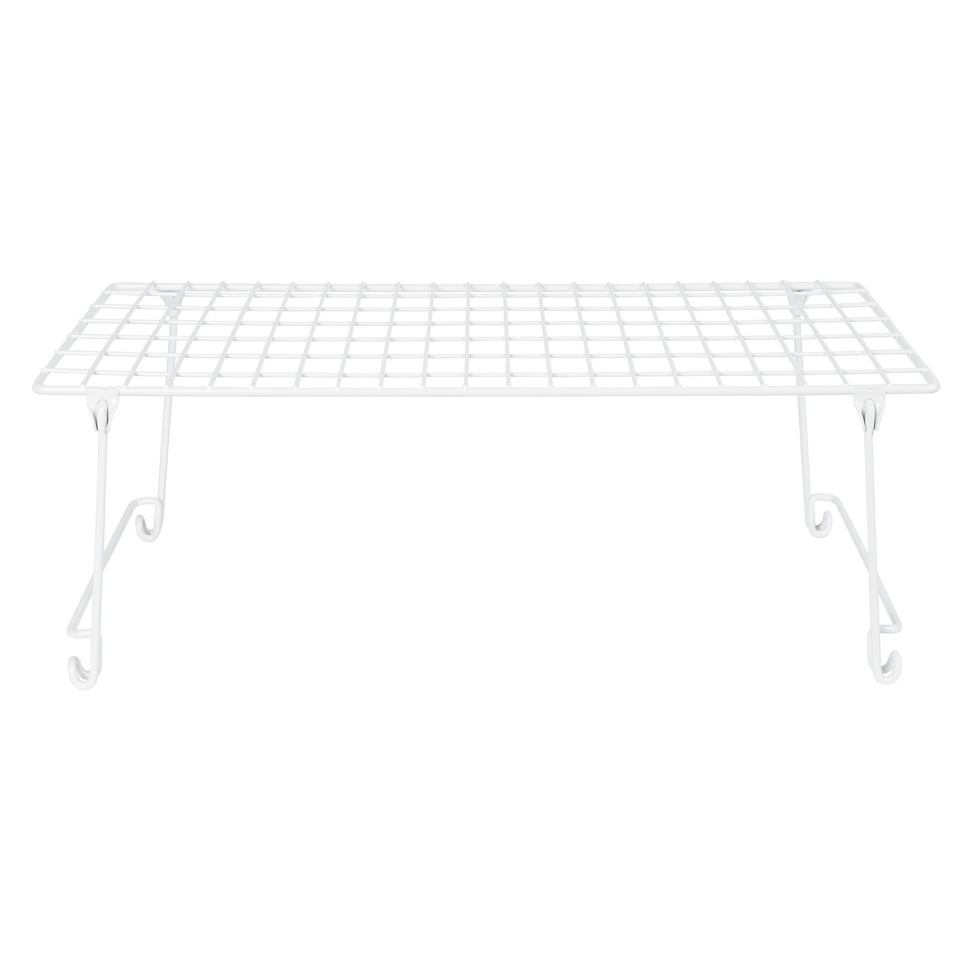 'ClosetMaid 21'' Stack or Hang Wire Shelf - White'