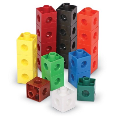 Learning Resources Snap Cubes - 100pc
