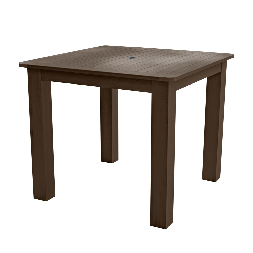 Square 42 X 42 Counter Dining Table Weathered Acorn - Highwood