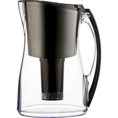 Brita Marina 8 Cup Water Pitcher - Black