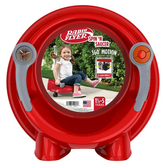 Radio Flyer Red Spin N Saucer image number null