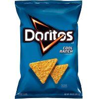 Doritos Cool Ranch Flavored Tortilla Chips, 10.5-Oz