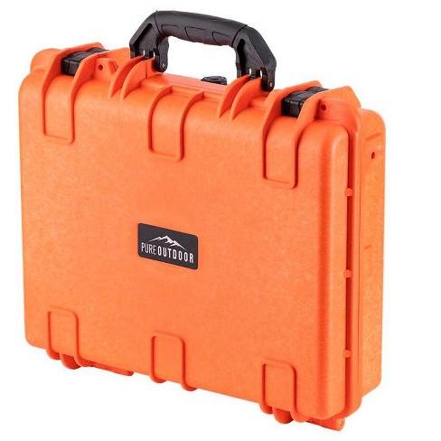 Monoprice Weatherproof Hard Case - 19in x 16in x 6in, Orange With Customizable Foam, Shockproof, IP67 - image 1 of 4
