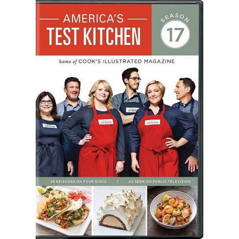 America S Test Kitchen Season 17 Dvd