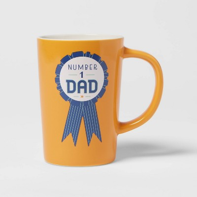 16oz Stoneware Number 1 Dad Mug - Room Essentials™