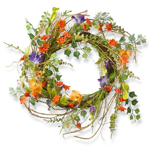 "Morning Gloring Wreath (22"") - image 1 of 1"