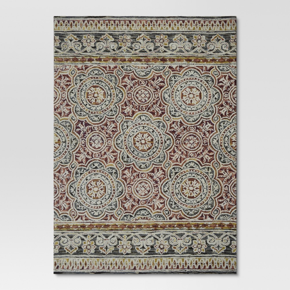 Belfast Area Rug - Red - (7'x10') - Threshold