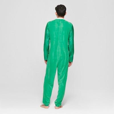 Men's Leprechaun Union Suit - Green L, Size: Large