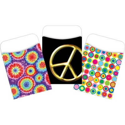 3pk 30ea In the Groove Peel & Stick Library Pockets - Barker Creek