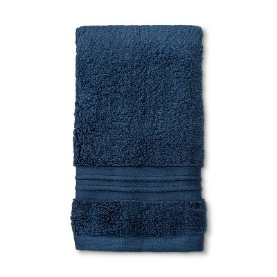 MicroCotton Spa Hand Towel Metallic Blue - Fieldcrest®