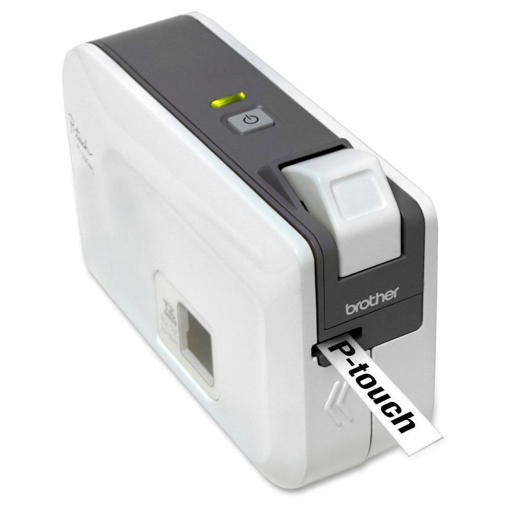 Brother Portable Label Printer (PT1230PC) Great for home or office, the Brother Label Printer is an easy-to-use PC-connectable label maker. This Brother label maker is capable of printing multiple lines of text, graphics, and all True Type resident fonts.