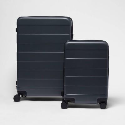 2pc Hardside Luggage Set Gray - Made By Design™