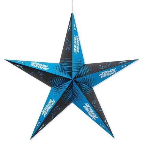 NFL Carolina Panthers Star Lantern - image 1 of 2