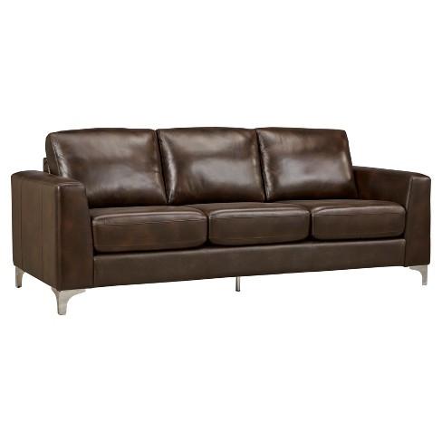 Anson Leather Sofa - Inspire Q®