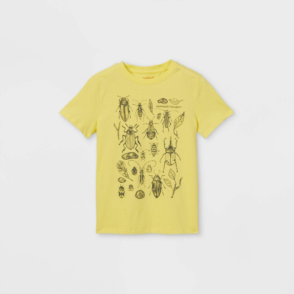 Boys 39 Bugs Graphic Short Sleeve T Shirt Cat 38 Jack 8482 Yellow M