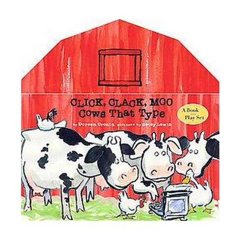Click Clack Moo Cows That Type Hardcover Doreen Cronin Target