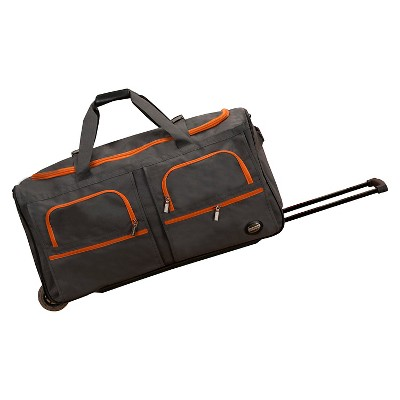 Rockland Rolling Duffle Bag - Charcoal (30 )