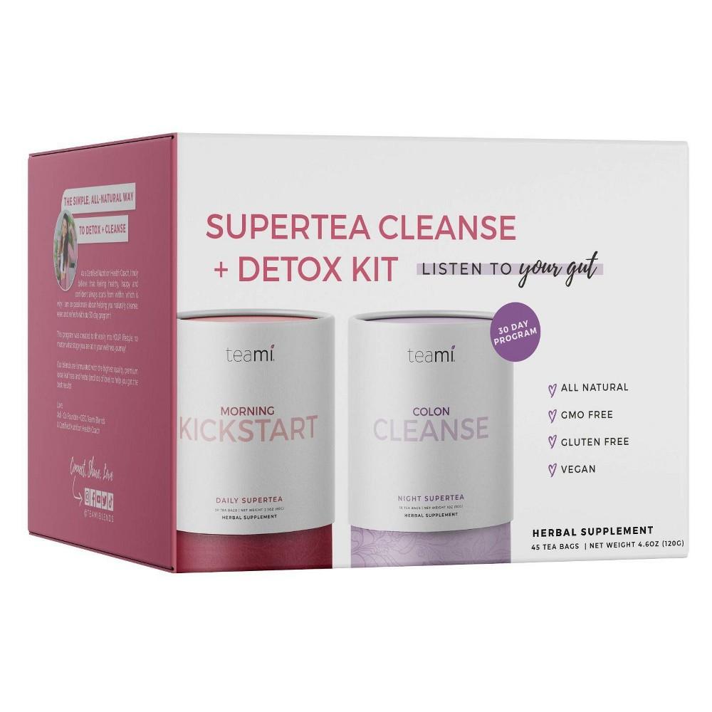 Teami Natural Cleanse And Detox Program 4 6oz