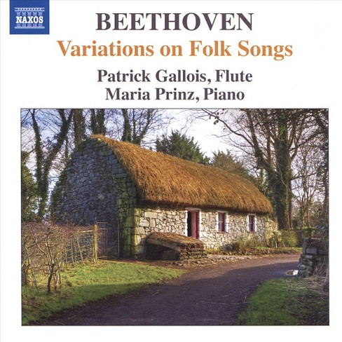 Patrick gallois - Beethoven:Variations on folk songs (CD) - image 1 of 1