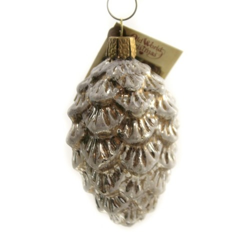 Old World Christmas 3 5 Vintage Ponderosa Pine Cone Ornament Woodland Tree Ornaments Target