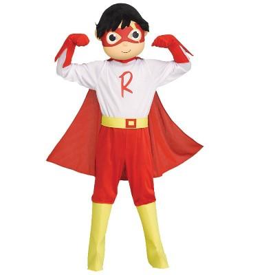 Kids' Ryans World Red Titan Halloween Costume