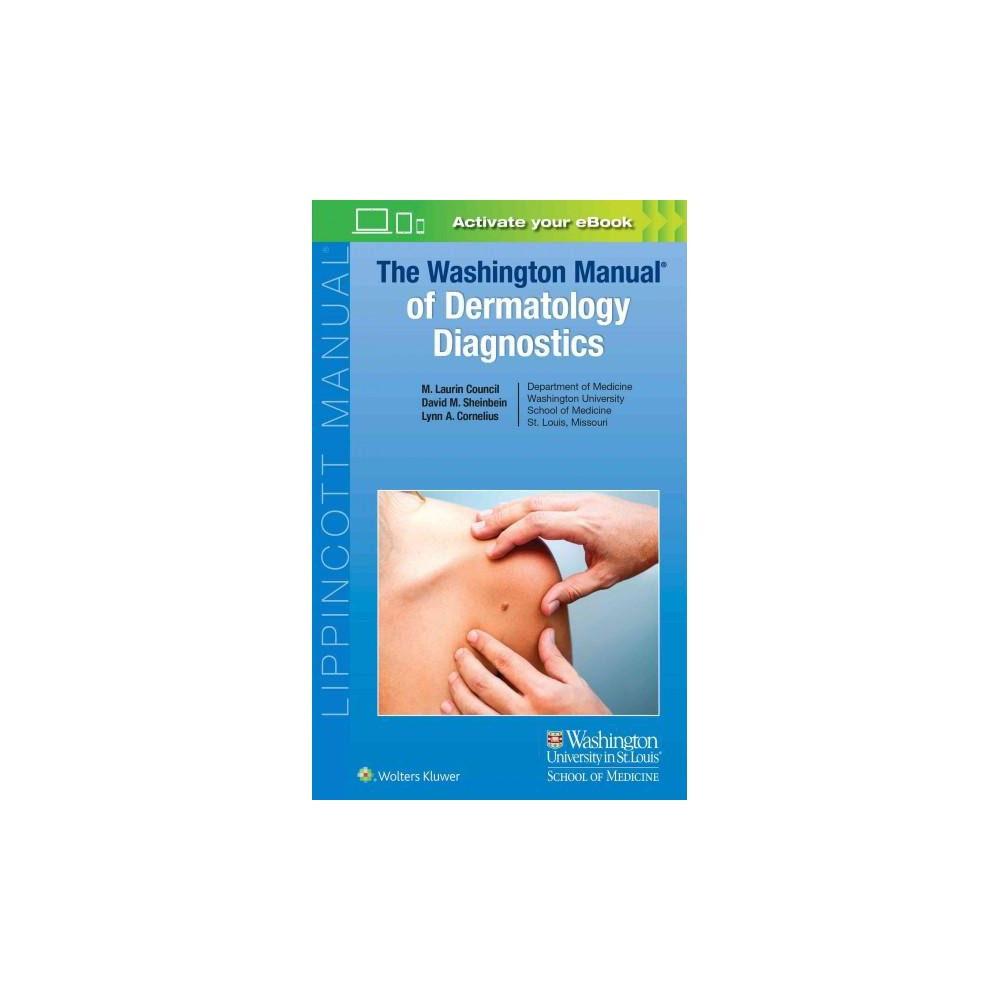 Washington Manual of Dermatology Diagnostics (Paperback) (M. Laurin Council)