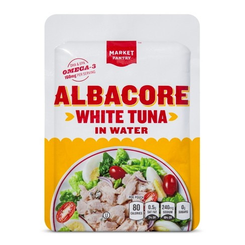 Chunk White Albacore Tuna in Water- 2.6oz - Market Pantry™ - image 1 of 1
