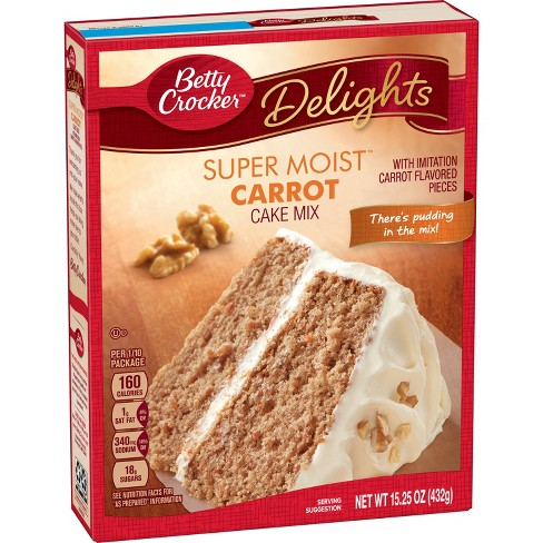 Betty Crocker Super Moist Carrot Cake Mix - 15.25oz - image 1 of 2