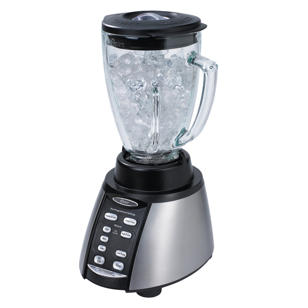 Oster Reverse Crush 300 Blender Black/Silver, BVCB07-Z00-NP0, Black And Silver 12185661