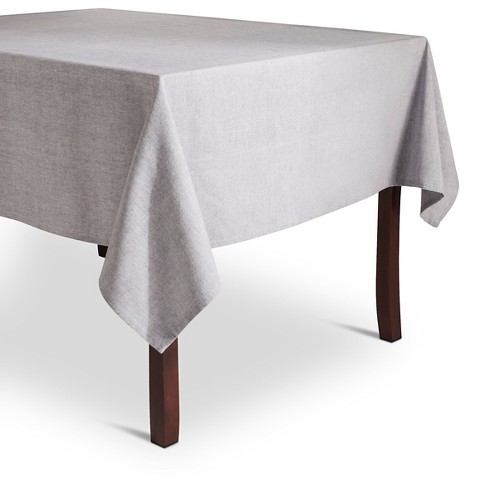 Blue Chambray Tablecloth - Threshold™ - image 1 of 1