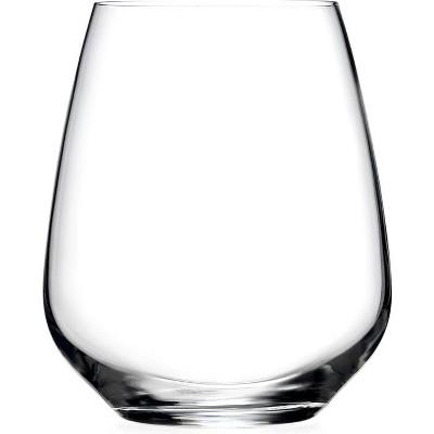 Luigi Bormioli Prestige 23.75 Ounce Cabernet and Merlot Stemless Glass, Set of 4
